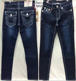 Jeans solides en Ligne-KENGEL New Men True Jeans Pantalon de haute qualité Denim Designer Dark Solid couleur Straight tr Jean Pour Hommes Pantalon