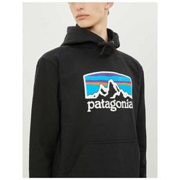 2019 hoodies japonais hommes Japonais Patagonia Mens Designer Hoodies Marque Hommes Montagne Printed Sweatshirts hoodies japonais hommes pas cher