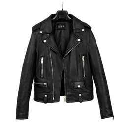 942e12c4bb26c PU Leather Jacket Women Fashion Bomber Black Motorcycle Coat Faux Leather  Biker Jackets Windbreaker jaqueta feminina x586 black leather bomber jacket  women ...