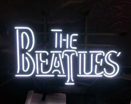 2019 enseigne au néon des beatles THE BEATLES Enseigne Au Néon Restaurant Lumière Publicité Divertissement Décoration Art Affichage Véritable Lampe De Verre Cadre En Métal 17 '' 24 '' 30''40 '' enseigne au néon des beatles pas cher