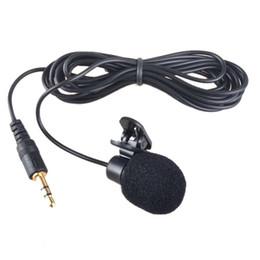 clips für revers mic Rabatt TTKK Brand New Hands Clip On Revers Mikrofon Mikrofon + Kopfhörer mit Mikrofon 3,5 mm für Lautsprecher