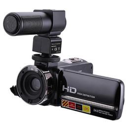 2019 ir цифровая видеокамера Пульт дистанционного управления ИК ночного видения 1080P 24-мегапиксельная 16-кратный цифровой зум камеры видеокамеры дешево ir цифровая видеокамера