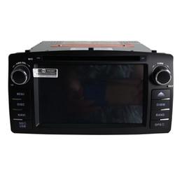 Toyota corolla kamera online-neuer freier Verschiffen Auto-DVD-Spieler für Corolla E120 2003 2004 2005 2006 2007 2008 GPS-Navigations-Bluetooth-Radiospieler Stützkamera