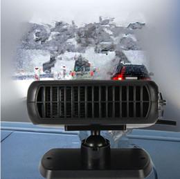 Nouvelle voiture chauffage chauffage ventilateur 2 en 1 12v 150w sèche désembuage dégivreur de pare-brise pour véhicule portable dispositif de contrôle de la température ? partir de fabricateur