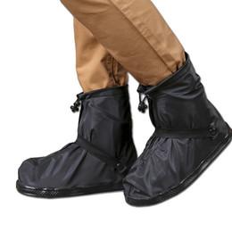 Outdoor Männer Wasserdichte regen Abdeckungen Wiederverwendbare Regen Schnee Rutschfeste Frauen Regen Schuh Motorrad Rain Reise Überschuhe Boot Schwarz # 319382 von Fabrikanten