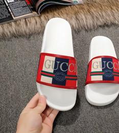 2019 euro sandalen 2019 Neuzugang Herren- und Damenmode White Logo Sylvie Slide Sandalen mit Gummisohle Größe Euro 35-45 günstig euro sandalen