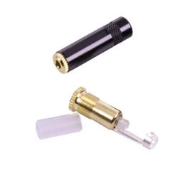 10pcs / lot Golden Plated Earphone 3.5 Audio Jack femmina 3.5mm 3 poli Presa stereo connettore del cavo da