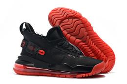 Rouleaux de qualité en Ligne-2019 Nouveau Jumpman 23 x Designer 720 Triple Black China Rouge Chaussures à Rouleaux pour Top qualité Hommes Extérieur Sports Sneakers Chaussures Taille 40-46