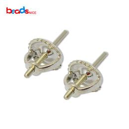 orecchino d'argento dell'orecchino 925 d'argento all'ingrosso per le orecchie perforate per l'orecchino delle donne di modo DIY ID28028 da cucitura di indumenti fornitori