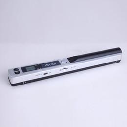 lettore dito Sconti Mini palmare Portatile formato JPEG / PDF Penna compatta Display LCD USB 2.0 900 DPI Scanner ad alta velocità