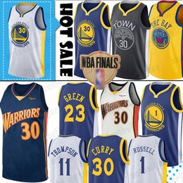 maglia klay thompson Sconti Maglie Warrior Stephen 30 Maglie Curry D'Angelo 1 Russell Klay 11 Thompson NCAA University Jersey Draymond 23 Green Andre 9 lguodala