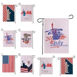 Canada nouvelle bannière drapeaux drapeaux de jardin américains 30 x 45 cm en plein air décorer draps drapeaux de jardin décorer le drapeau de la fête de l'indépendance T2I5206 supplier outdoor linens Offre