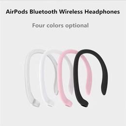 billige einzelhandelstelefone Rabatt EGEEDIGI NEW Schutz-Ohrstöpselhalter für AirPods-Haken drahtloses Headset-Zubehör Silikon Sport Anti-Lost für i7s i9s i10 tws