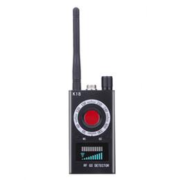 Contador de medidor inalámbrico K18 de 1 MHz-6,5 GHz Anti escáner de cámara Buscador de detector de señal de RF para aplicaciones de seguridad personal para el hogar desde fabricantes