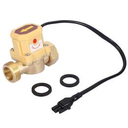 HT-800 G1 Discussione 220V Macchina Automatica Interruttore elettronico di controllo per la doccia Bassa pressione dellacqua Riscaldamento solare Circolazione Sensore di flusso d acqua flussimetro