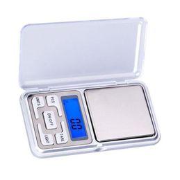 Mini Escala de bolsillo digital 200g 0.01g Joyas Escala de diamante Escala de equilibrio Pantalla LCD con paquete al por menor desde fabricantes