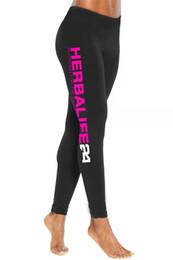 calça exercício quente Desconto mulheres vestuário Herbalife Hot Yoga Pants Esporte Push Up calças justas Gym Exercício cintura alta aptidão que funciona Calças Athletic