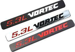 2019 camiones de plástico Vortec de 5,3 litros insignia emblemas de la etiqueta 3D 1500 GMC 2500HD Silverado Camión Negro Blanco Cromo Rojo rebajas camiones de plástico