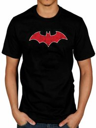 Batman Red Bat T-shirt Robin Catwoman Joker Marvel Superhero DC Comics de