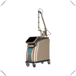 Nd yag prezzo della macchina laser online-Prezzo Pico Corea 755nm 1064 532 Q interruttore ND yag laser laser a picosecondi / Picosecondo laser macchina di rimozione del tatuaggio