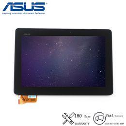 tela lcd fpc Desconto Original para asus memo pad inteligente ME301 ME301T K001 TF301T Display LCD Screen Touch Digitador com Frame 5280N FPC-1