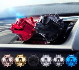 2019 muito bonito Americano Bully Aromaterapia Clip Mix Estilos Auto Auto Ventilação Refrogerador Carro Acessórios Do Carro Desodorante Da Fragrância Do Ar HA159