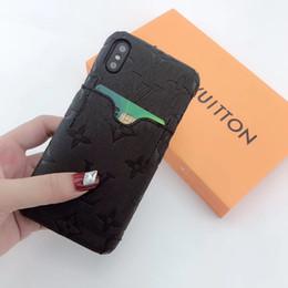 Coques One Piece Luxury Designer pour iPhone x iphone 7 Plus, coque arrière Coque arrière avec logo Pochette pour téléphone portable avec pochette pour carte ? partir de fabricateur