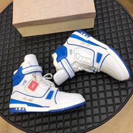 ботинок Скидка Высококачественные мужские модные кроссовки для мужчин Trainer Sneaker Boot Chaussures pour hommes Спортивная модная тип мужская обувь повседневная роскошная корзина