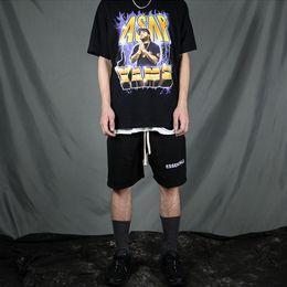 magliette di hip hop d'epoca Sconti A $ AP Maglietta Yams Vintage Hip-Hop Tee Uomo Manica Corta Cotone Rock Club Tees Unisex Skateboard Top CLI0517