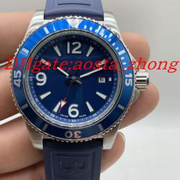 Medidor de goma online-Correa de caucho de acero inoxidable para hombre reloj automático de lujo para hombre 17367 reloj de diseñador buzo profesional 30 metros reloj de la OTAN principal