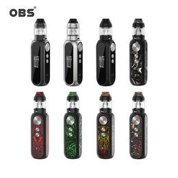 Tanque vw on-line-OBS Cubo X Kit 80 W VW Mod Display LED com 4 ml / 2 ml Malha Subohm Tanque M1 M3 Malha de Substituição Bobinas 100% Autêntico