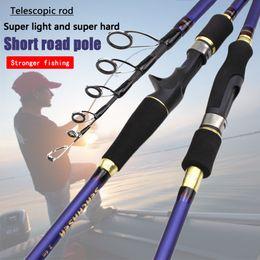 1.8 2.7m Telescopic Spinning Fishing Rod Carbon Fiber Surf Casting Spinning Rod Boat Fishing Pole Fly Fishing Stick Carp Fishing Rods | Wish