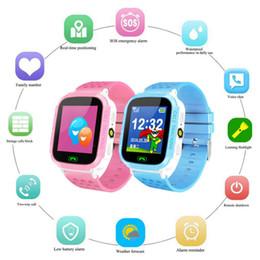 2019 sos watch sim Reloj inteligente anti-perdida Rastreador GPS Llamada SOS GSM SIM Regalos de Navidad para niños Niños rebajas sos watch sim