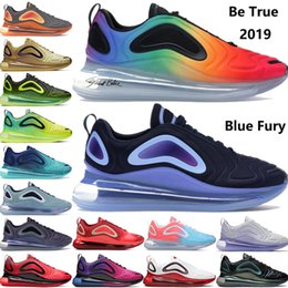 future boots Promo Codes - New arrival be true 2019 Obsidian Blue Fury Volt Black Hot Lava throwback future sunset KPU OG mens running shoes women luxury sneakers
