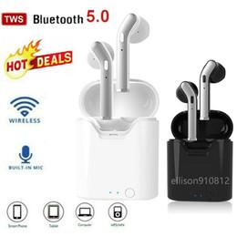 TWS Auricolari Bluetooth 5.0 Headset auricolare senza fili in cuffia Earbuds mini Sport del ricevitore telefonico per iphone Samsung PK i7s i9 i12 i11 da bluetooth del pezzo dell'orecchio fornitori