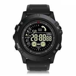 Relogios táticos on-line-Esportes ao ar livre À Prova D 'Água Bluetooth Longa Espera Relógio Inteligente Tactical Pulseira Pedômetro Com Mostrador Luminoso