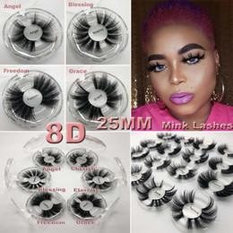 Venda de cílios postiços on-line-25mm 5D cílios vison Super natural Lifelike Fit Grosso falso 5d Vison Cílios realista 100% Handmade venda direta da fábrica