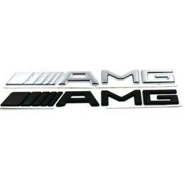 alfa romeo vinyl Promotion 3D ABS Logo De Voiture Logo 3M AMG Lettre Badge Autocollant Pour Mercedes MB CL GL SL