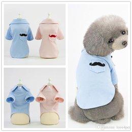 2c56caa1104c F134 pet dog summer POLO shirt pet cotton shirt puppy cotton vest cool thin  summer T-shirt small pets summer clothes