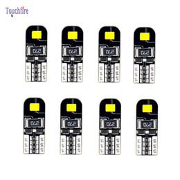 bmw e46 ampoules Promotion 100 Pcs T10 W5W 168 194 LED Ampoule De Voiture pour BMW E90 E46 E60 Intérieur Lecture Dôme lampe carte Side Maker Lumière 12 V Gros