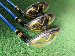 Katana golf club online-Katana Ninja Katana Ninja Hybrid Golf Hybrid Golf Club 19/22/25 Grado R / S / SR Pozzo della grafite con la copertura capa