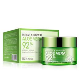Hydratant riche en Ligne-Crème pour la peau Nature Aloe Vera avec riche aloe Repair Gel hydratant apaisant Crèmes pour le visage Essence Soins de la peau