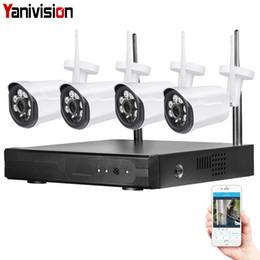 Canada 4CH 1080P WIFI NVR Système de caméra de sécurité CCTV sans fil NVR Kit 720P Accueil WIFI Surveillance vidéo extérieure IP Caméra Étanche cheap ip cctv surveillance system Offre