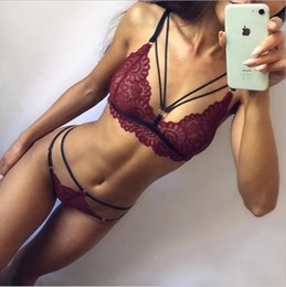 Mulheres Sexy Babydoll lingerie erótica Sexy Underwear Temptation Lace três pontos Ternos Chemises Sexy Costumes Sex Lingerie de
