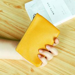 con caja naranja KEY POUCH Cuero real contiene 100% cuero Famoso diseñador clásico llavero portamonedas Monedero pequeño bolso de artículos de cuero desde fabricantes
