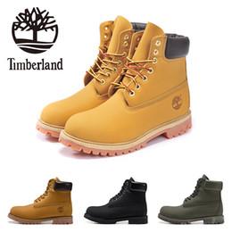 2019 le donne di ufficio vestono il sesso timberland progettista Mens Boots militare Donne Castagno Triple Black White Camo escursionismo scarpe sportive in pelle alla caviglia di tendenza di moda Boot 36-45
