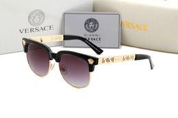 Gafas de animales online-VERANO Mujeres gafas de metal de lujo para adultos Gafas de sol para mujer Diseñador de moda Gafas de conducción gafas de sol 67942