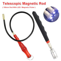 riparare la riparazione del telefono Sconti Mano Tool Set Magnetic LED Rod Pick Up attrezzi magnetici Picker per dado / bullone / Viti 190 millimetri / 550 millimetri