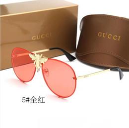 2019 occhiali da sole di lusso di modo di stile di estate originale della SCATOLA per il progettista degli uomini delle donne degli uomini che guida lo specchio degli occhiali dello schermo di acquisto Trasporto libero da occhiali da asso fornitori