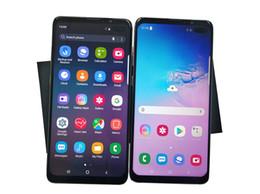 2019 billige kamera karte HEIßER Goophone S10 plus 4G Lte Octa-Kern 6,4 Zoll S10 + RAM 1 GB ROM 16GB Android 7.0 Kamera 13.0MP Gesichts-Iris-ID entriegeltes Smartphone